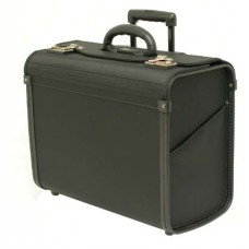 "18"" Ballistic computer pilot case with cart system"