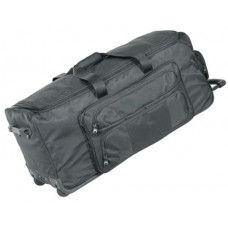 """40"""" Ultra Deluxe Wheeled Duffel w/ 2 Removable Soft Rack"""