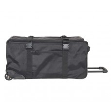 """5157 10ST  30"""" Standing UP Travel Wheeled Duffel w/removable Shoe Sample Bag"""