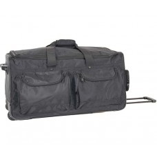 """5175-10ST 30"""" Deluxe Wheeled Duffel removable shoe sample bag"""