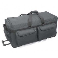 """35"""" Deluxe Wheeled Duffel w/ 2 Removable Soft Rack"""