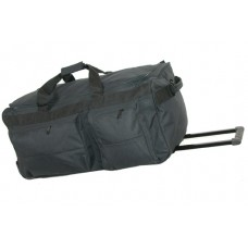 "35"" Corner wheeled polyester duffel w/cart system"