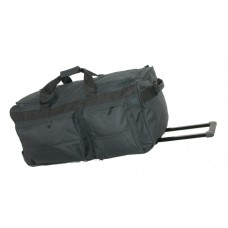 "40"" Corner wheeled polyester duffel w/cart system"
