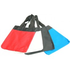 13 Two Tone Polyester Tote