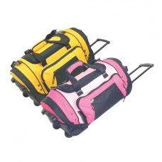"22"" Sports wheeled duffel w/cart system"