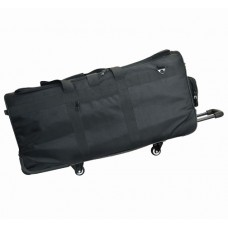 6 Wheels Flat Rolling Sample Bag w/2 Removable Soft Rack