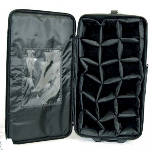 10 Stw Carry All Show Sample Wheeled Bag
